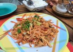 Week 16: Amsterdam - surprisingly, Thai & Indonesian food is the thing to eat here. This was the SPICIEST pad thai I've ever had