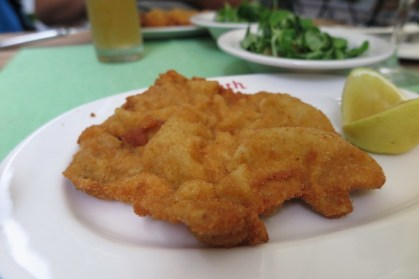 Week 19: Vienna - did you know weinerschnitzel was invented in Vienna? It is damn good here too!