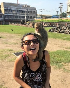 Week 34: Lopburi - where I got bitten by a monkey