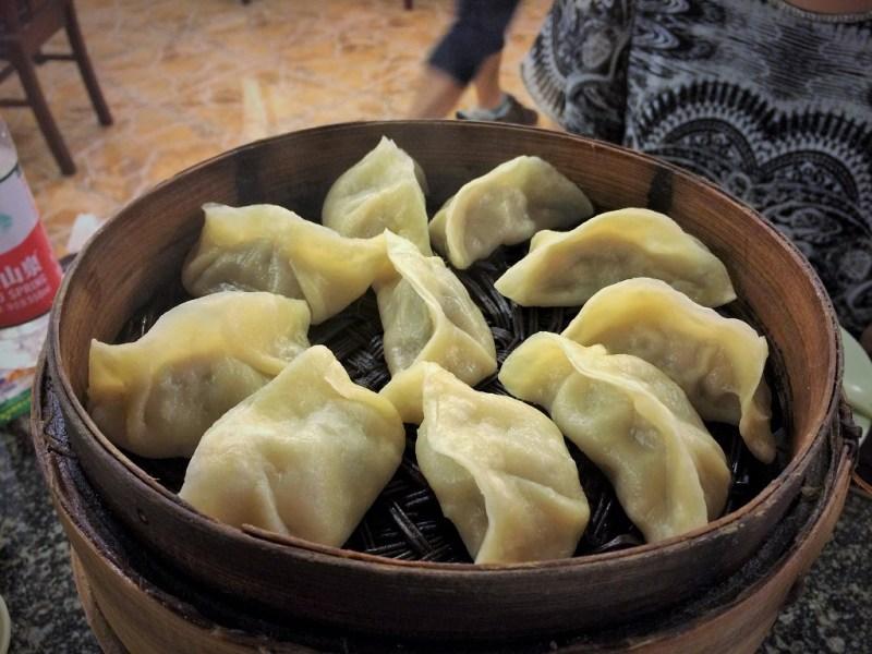 wuhu geng fu xing pork dumplings