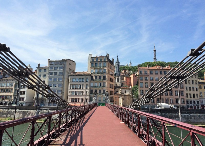 Lyon bridge to Old Town