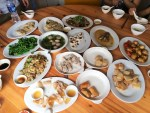 A sampling of Chaozhou cuisine