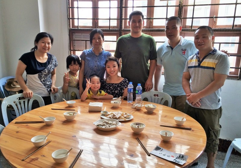Chaozhou lunch group picture