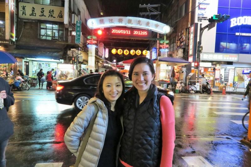 lin jiang night market gate