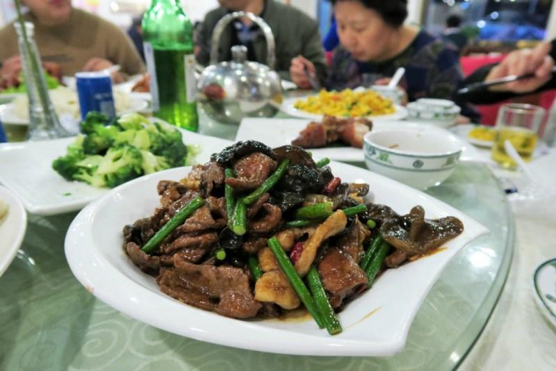 12 CNY liver with veggies