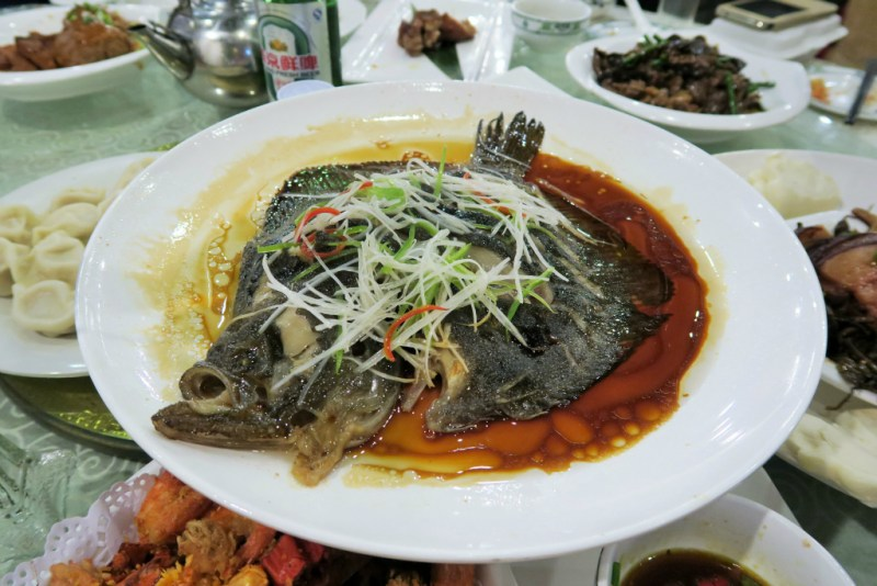 14 CNY steamed fish