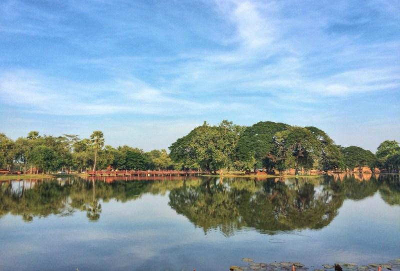 biking in Sukhothai 8