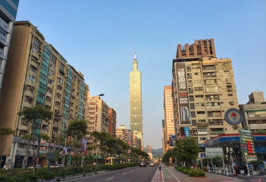 Week 1: Taipei - our street!
