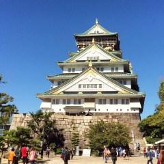 Week 27: Osaka, Japan - back on the road! This is Osaka Castle
