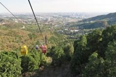 Beijing - gondola overlooking the city