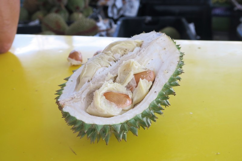 Kuala Lumpur] I finally eat durian for the first time