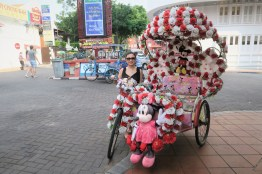 Week 12: Melaka - can't get over these ridiculous trishaws
