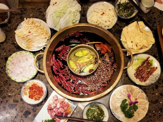Week 14: Chengdu - welcome hotpot!