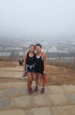 Week 30: Los Angeles - hiking with my sister