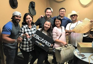 Week 43: Los Angeles Omair's escape room bday party