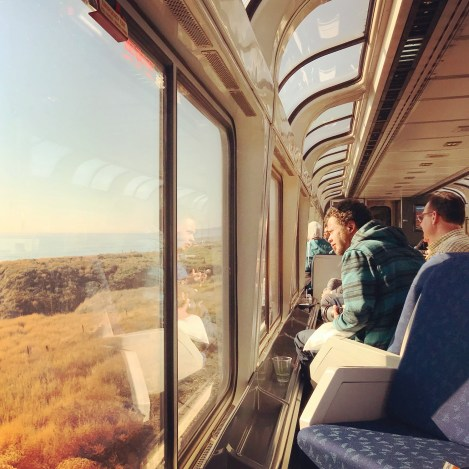 Week 44: on the train - The Coast Starlight from Los Angeles to Seattle