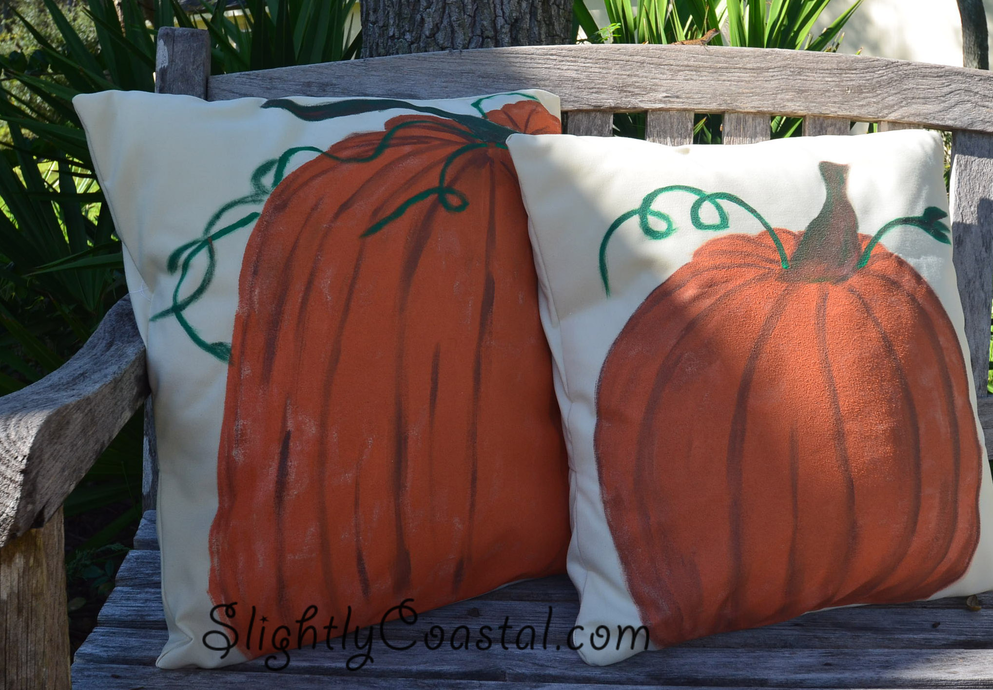 Pottery Barn Knock Off Pillows On The Cheap