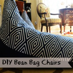 Two Person Bean Bag Chair Sure Fit Slipcover Target Textile Tuesday: Diy Chairs | Slightly Coastal