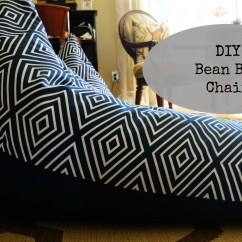How To Make Bean Bag Chair Staining Adirondack Chairs Textile Tuesday Diy Slightly Coastal