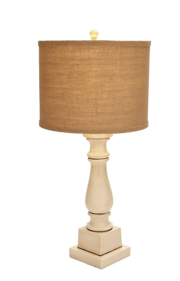 A turned leg lamp that actually comes with a great shade. I'm buying this one!