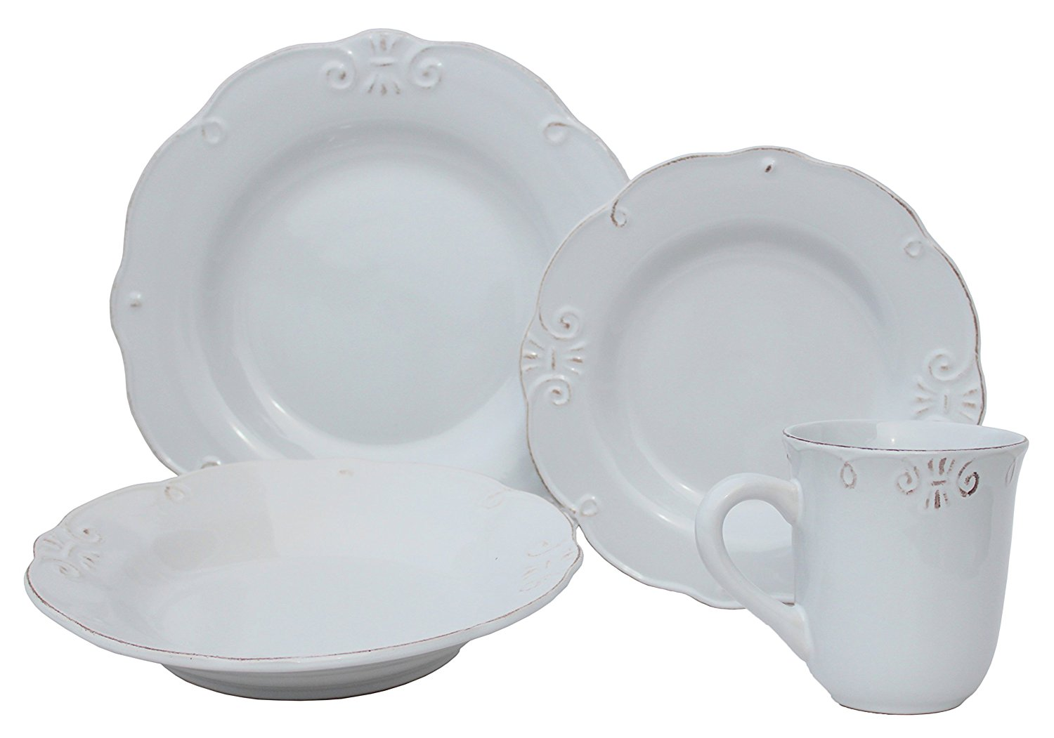 Stoneware is typically less expensive than porcelain. Here are a few of my favorites. melange dinnerware  sc 1 st  Slightly Coastal & Picking Out The Perfect White Dishes | Slightly Coastal