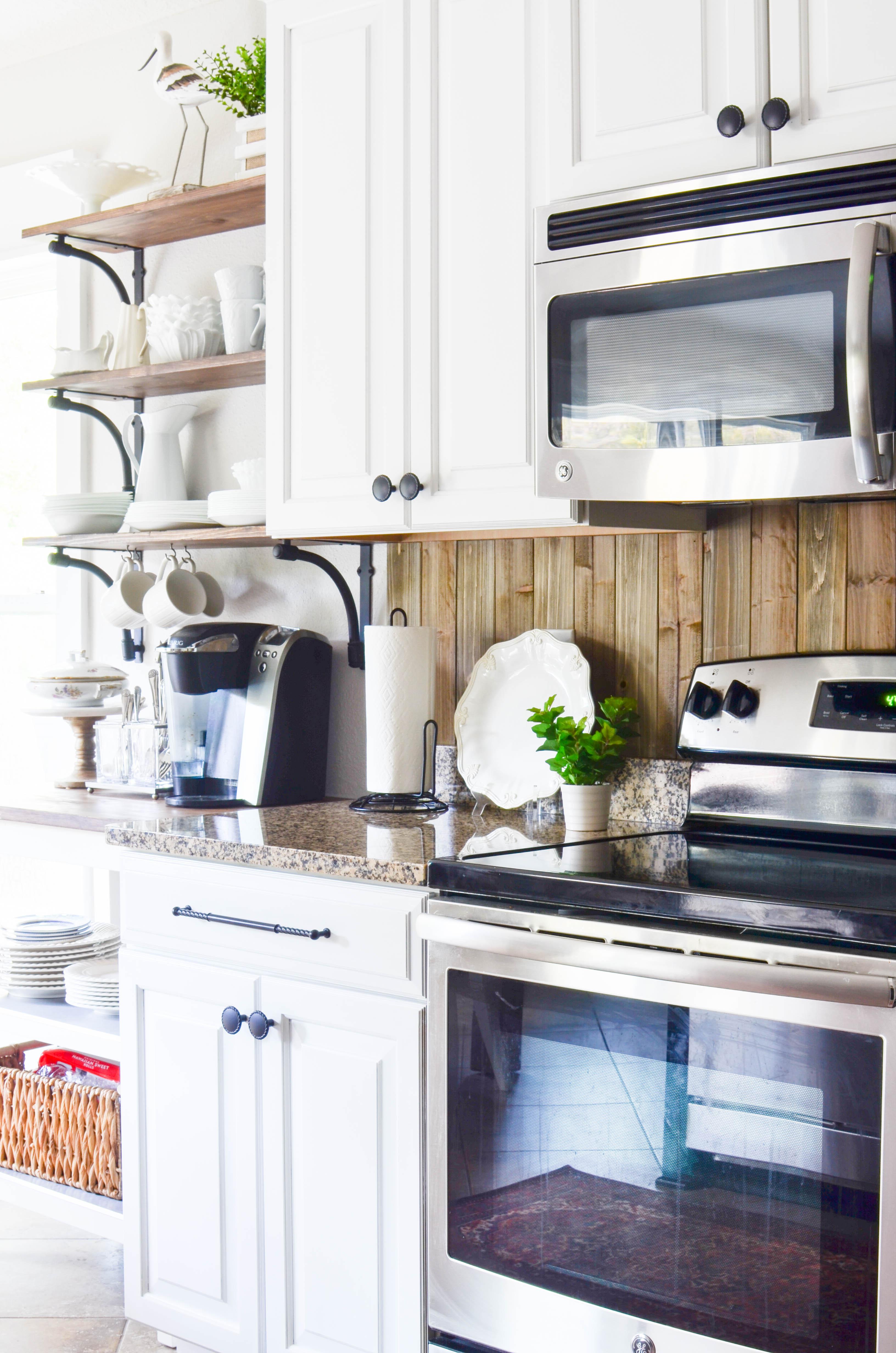 White Coastal Kitchen Reveal  