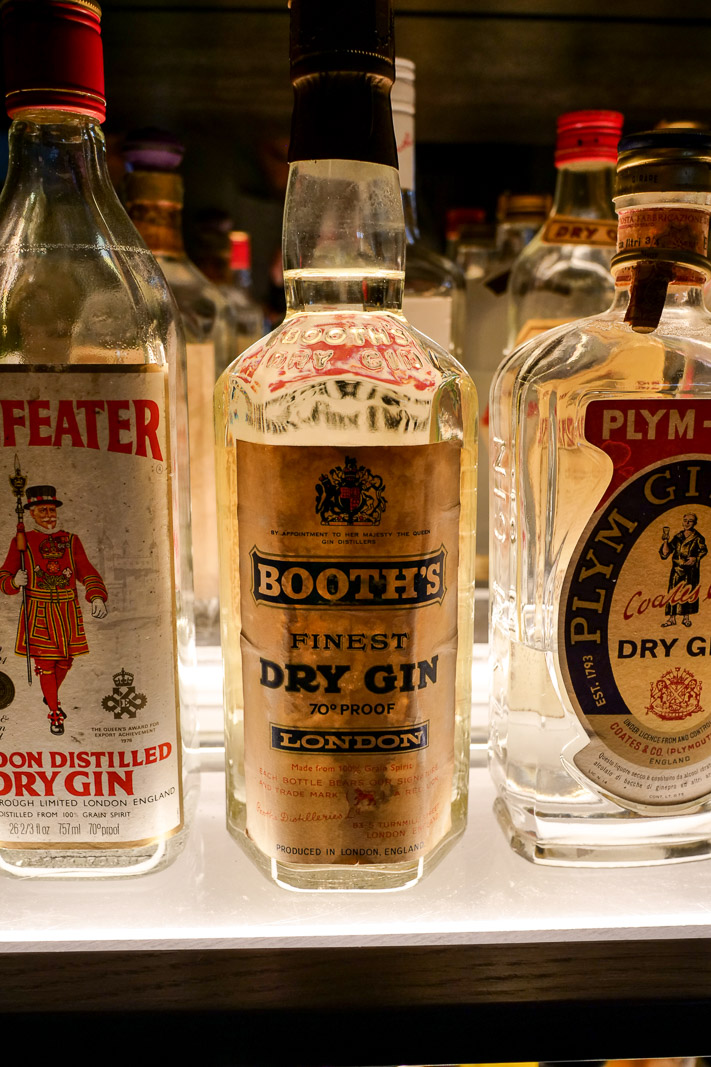 You won't find a better selection of vintage gins anywhere.