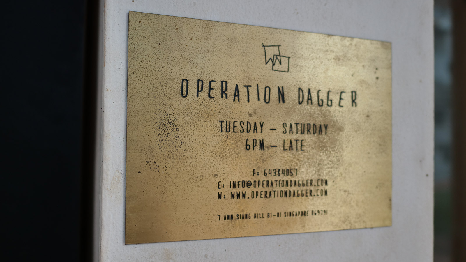 Operation Dagger Sign