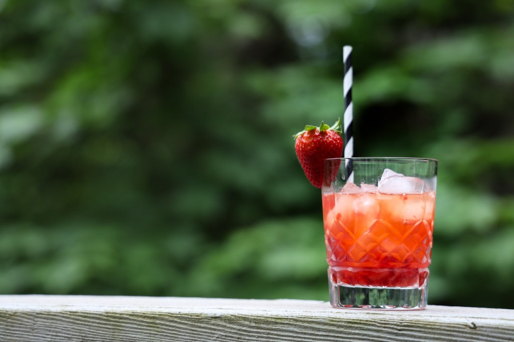 Strawberry Fix Cocktail