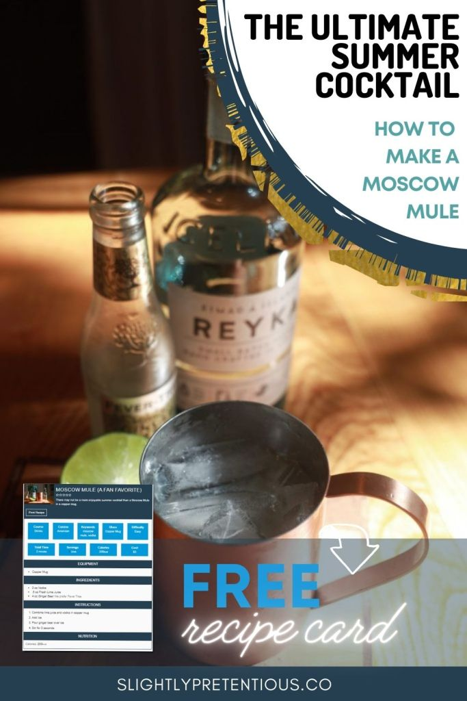 Moscow Mule Pin
