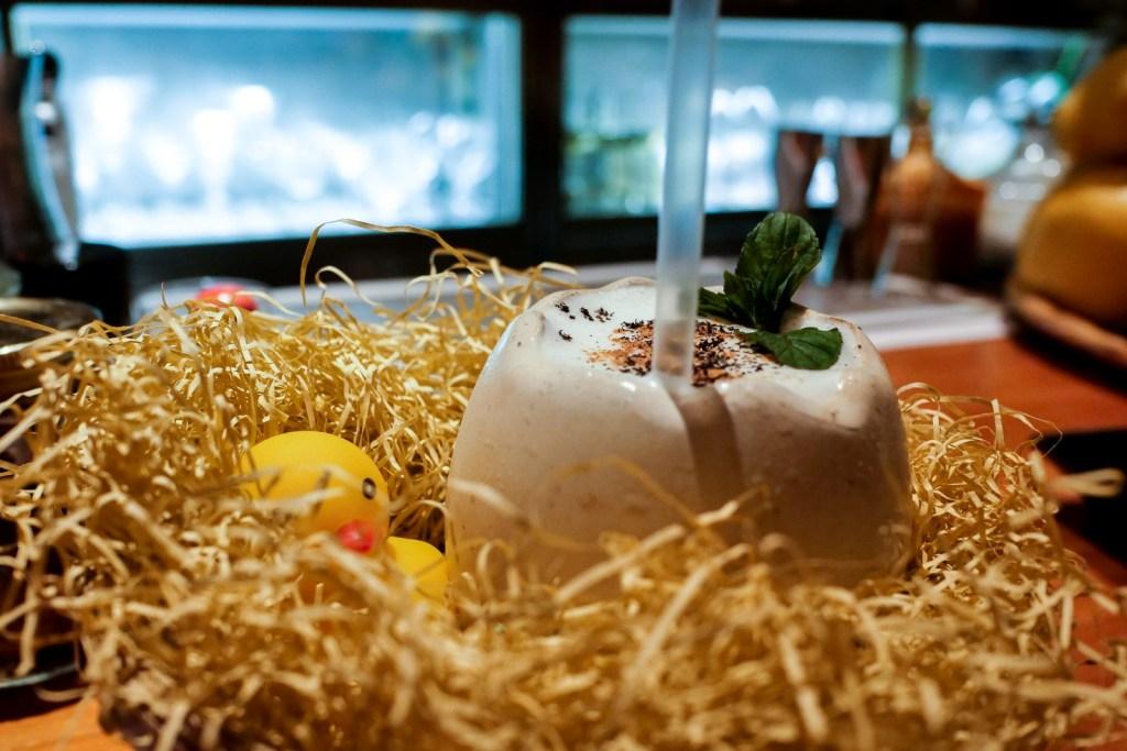 A drink at Bar Orchard Ginza.