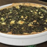 Spinazie-Feta Quiche
