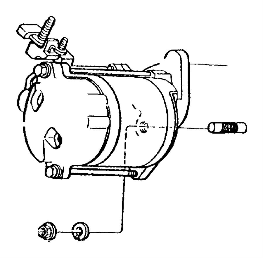 Dodge Ram 3500 Van Starter Motor. Engine, LITER