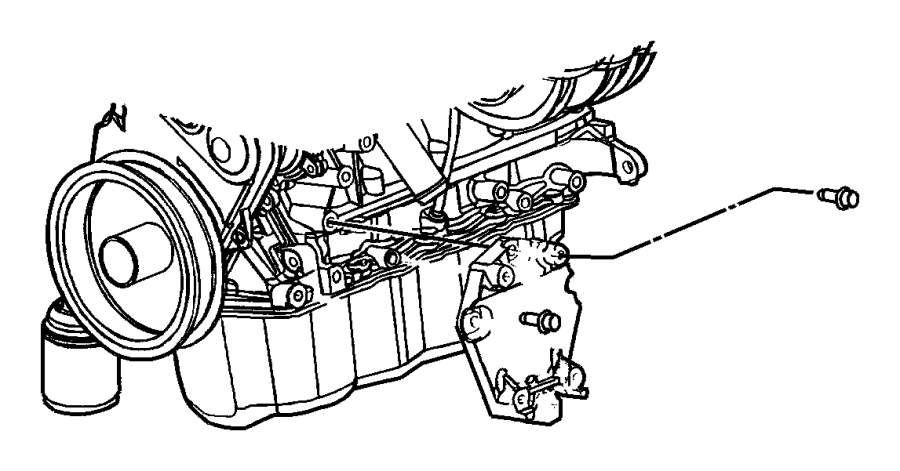 Dodge Stratus Bolt. Mount. 2.4 LITER. Compressor. Sedan, 2