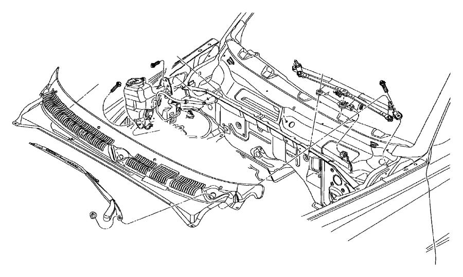 Dodge Dakota Windshield Wiper Arm (Front). Wiper. ARM