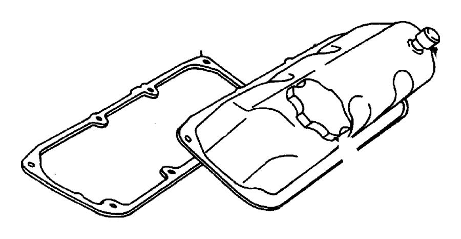 Dodge Caravan Engine Cylinder Head. BEARINGS, CRANKSHAFT