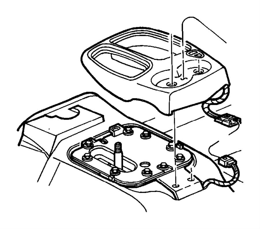 Dodge Dakota Bezel. 1997-00, 4WD, manual trans, gray. FCA