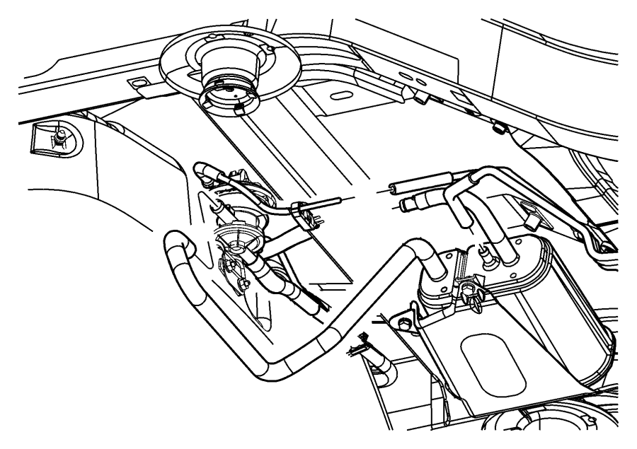 Dodge Ram 1500 Pump. Leak. Detection. System. Emissions