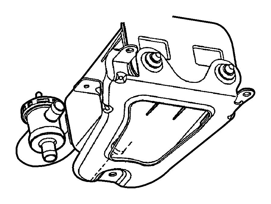 Chrysler Town & Country Vapor Canister. Vapor canister
