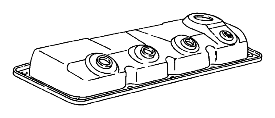 Dodge Neon Engine Valve Cover. 2.0 LITER. Neon. Neon; w/o