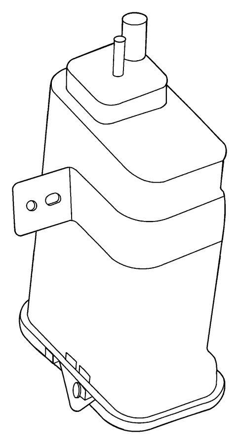 Jeep Liberty Vapor Canister. Evaporative, EMISSION, Make