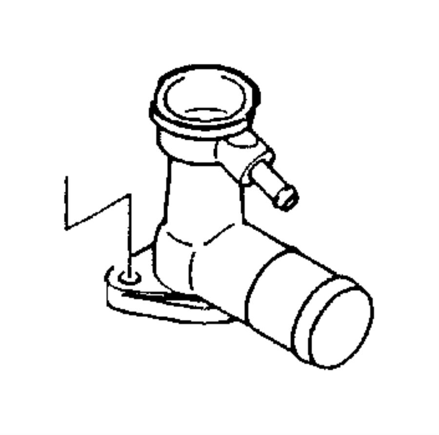 Dodge Avenger Engine Coolant Thermostat. LITER, Models