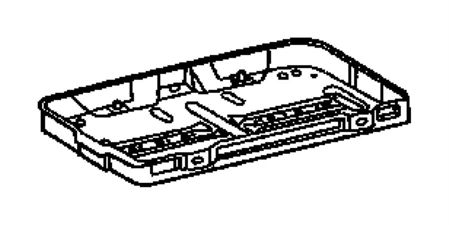 Dodge SPRINTER 3500 Battery Tray. Box, Fuse, Wiring
