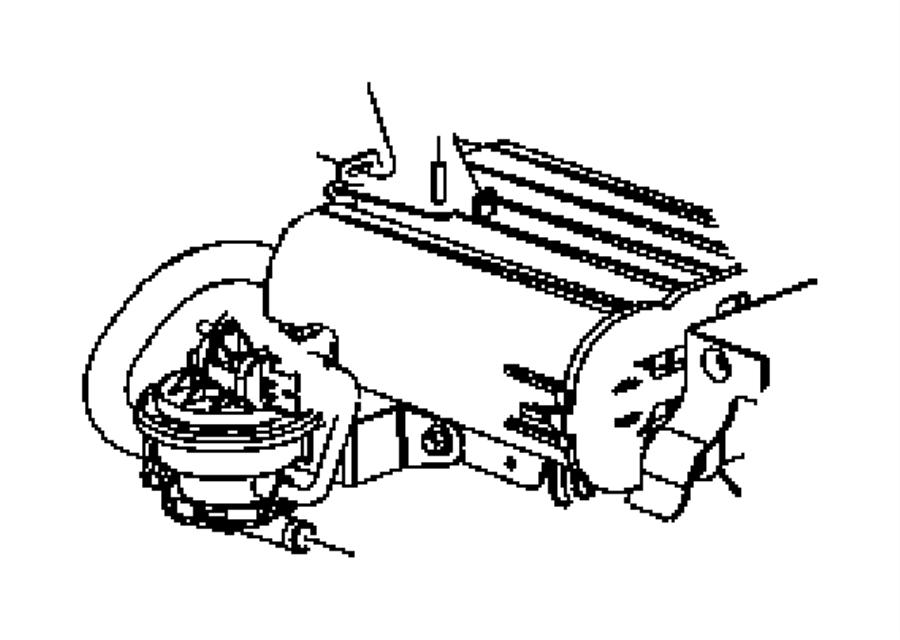 Dodge Ram 1500 Leak. Pump. DETECTION. System. Evaporative