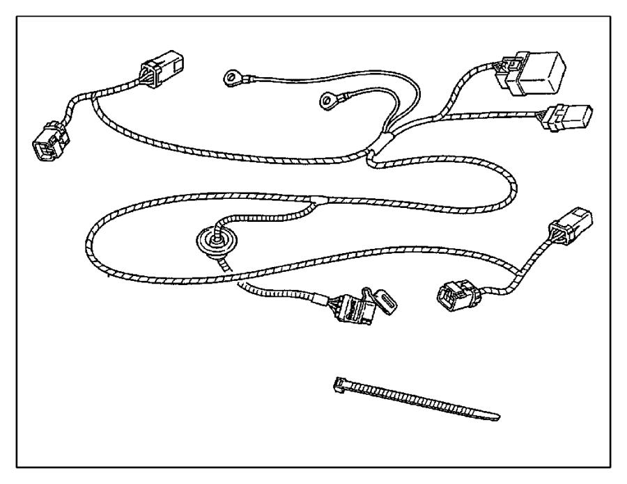 Chrysler Sebring Accessory Power Relay. Horn Relay