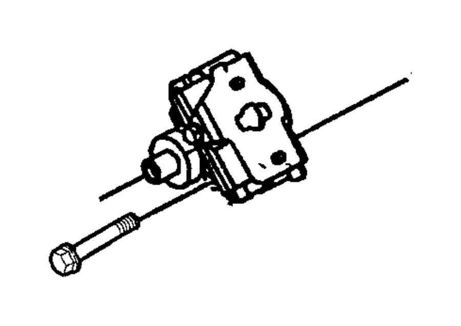Chrysler Concorde Power Steering Pump. GEAR, LINKAGE