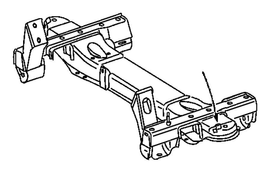Dodge SPRINTER 3500 Engine Cradle. 2500. Sprinter Van