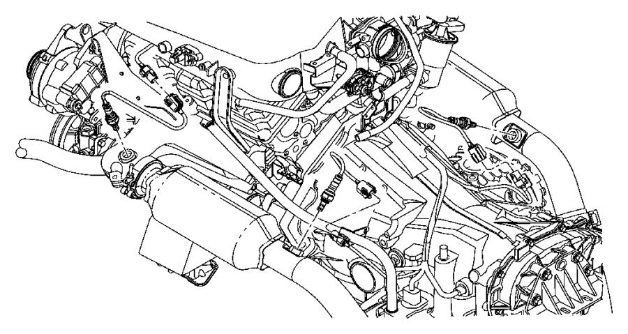 Chrysler Town & Country Oxygen Sensor. EMISSION, LITER