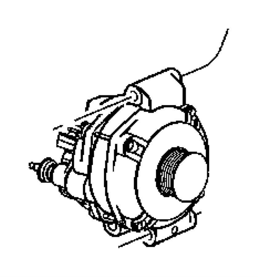 Jeep Grand Cherokee Alternator. Alternator. ENGINE