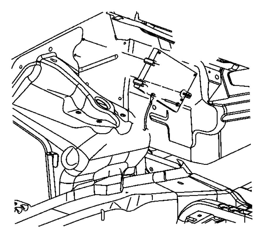 Dodge Dakota Engine Control Module. LITER, Auto, Trans